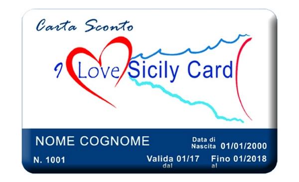 I Love Sicily Card